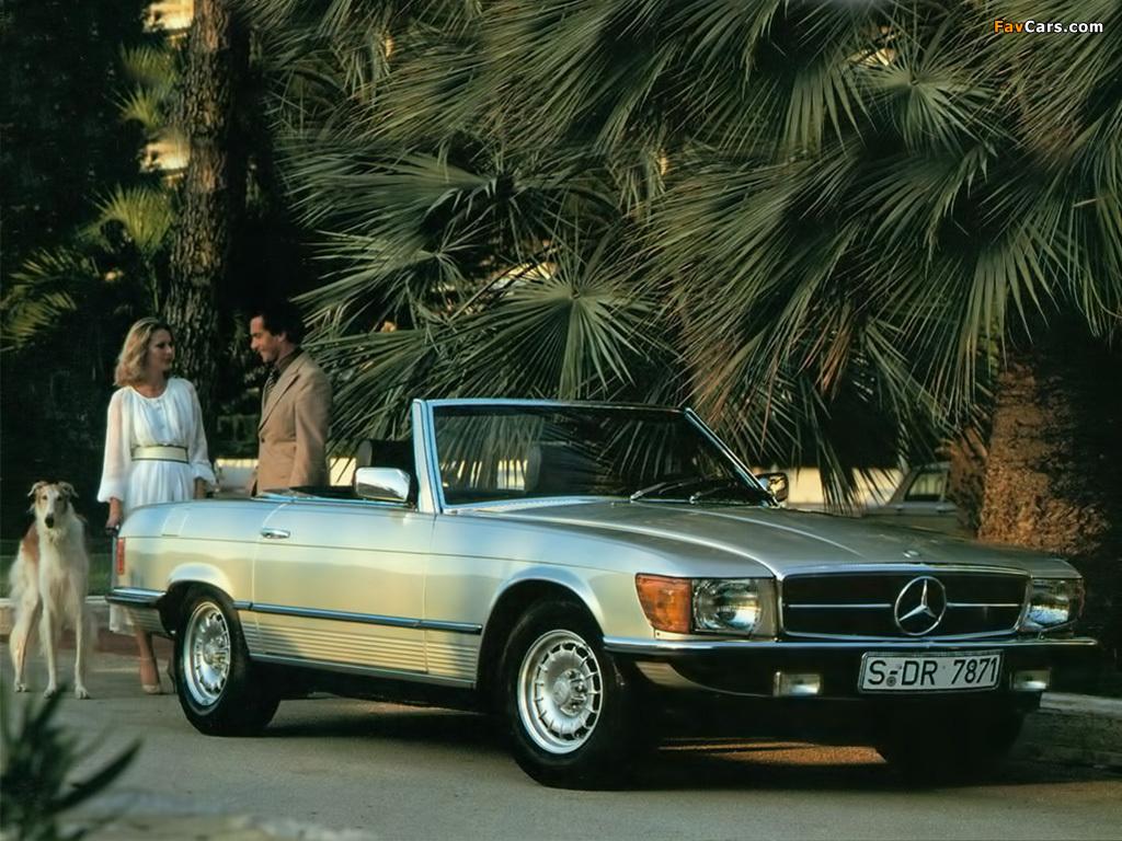 Mercedes-Benz 380 SL (R107) 1980-85 wallpapers (1024x768)
