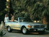 Mercedes-Benz 380 SL (R107) 1980–85 wallpapers