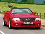 Mercedes-Benz SL 60 AMG UK-spec (R129) 1993–98 wallpapers