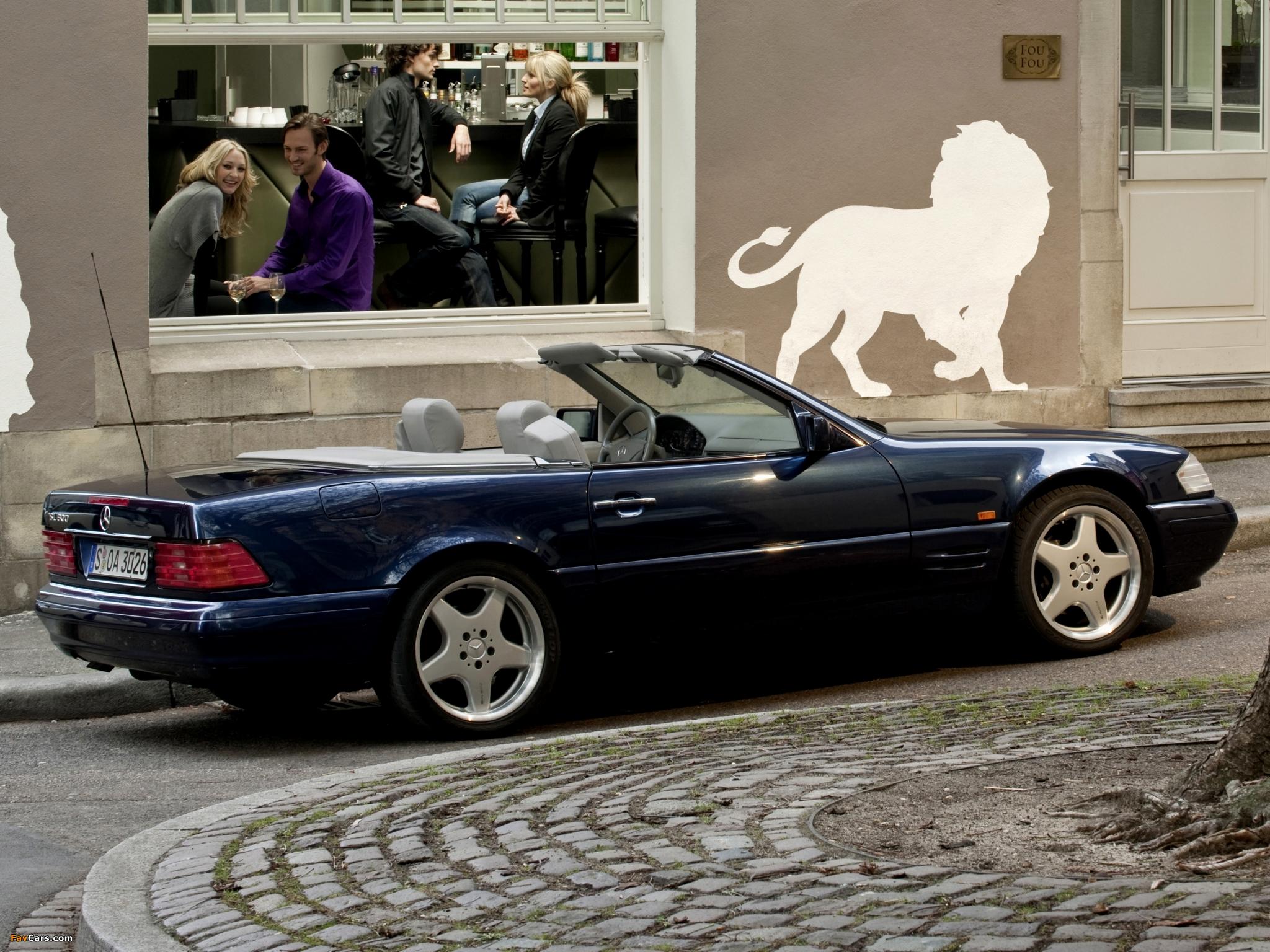 Mercedes-Benz SL 500 (R129) 1993–2001 wallpapers (2048 x 1536)