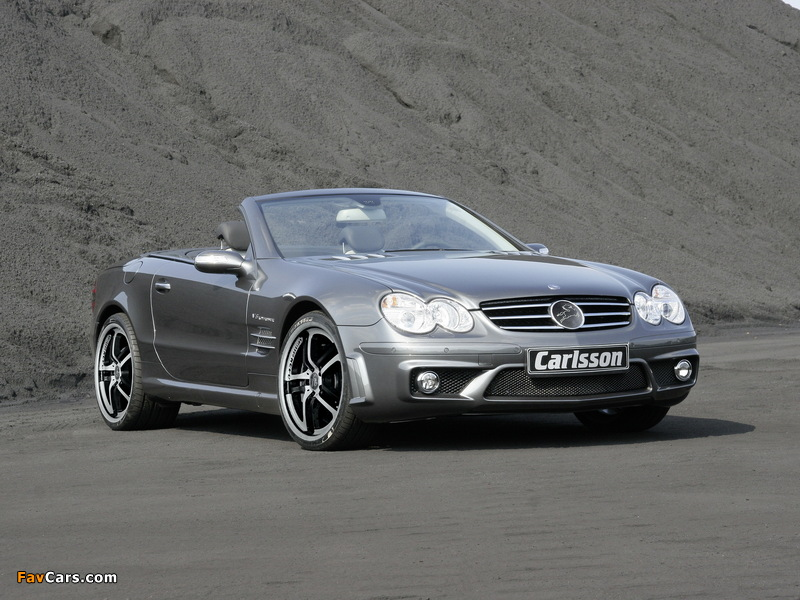 Carlsson Mercedes-Benz SL-Klasse (R230) 2001–08 wallpapers (800 x 600)