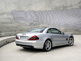Mercedes-Benz SL 55 AMG Performance Package (R230) 2002–08 wallpapers