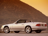 Mercedes-Benz SL 500 Silver Arrow (R129) 2002 wallpapers