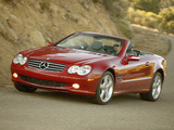 Mercedes-Benz SL 600 US-spec (R230) 2003–05 wallpapers
