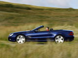 Mercedes-Benz SL 500 Sports Package UK-spec (R230) 2005–08 wallpapers
