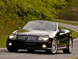 Mercedes-Benz SL 600 US-spec (R230) 2005–08 wallpapers