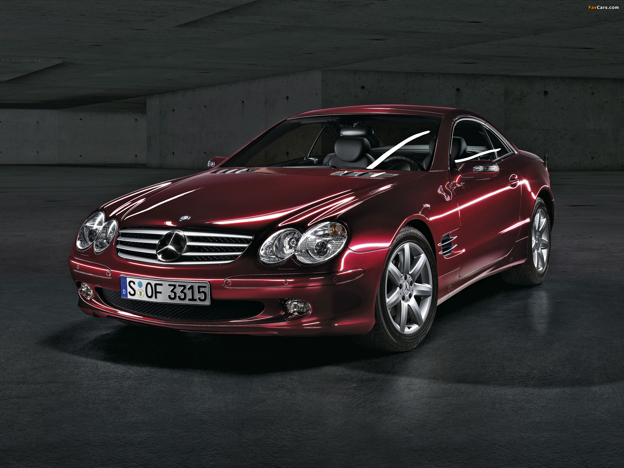mercedes benz sl 500 r230 2005 08 wallpapers 2048x1536. Black Bedroom Furniture Sets. Home Design Ideas