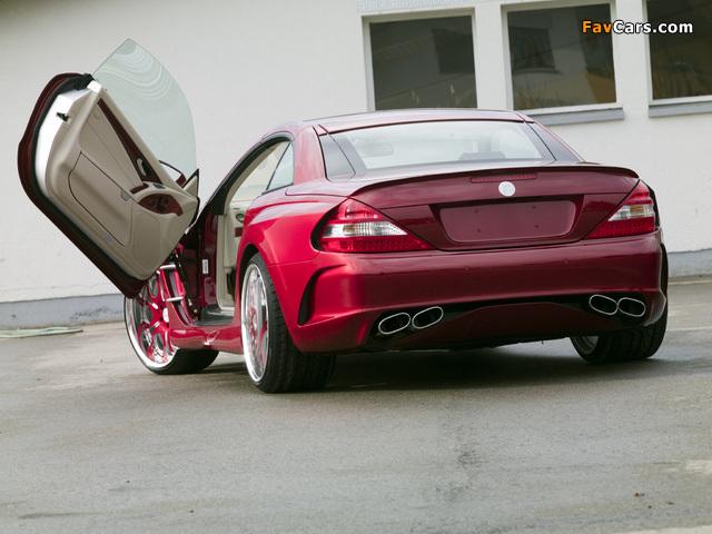 FAB Design Mercedes-Benz SL-Klasse (R230) 2005–08 wallpapers (640 x 480)