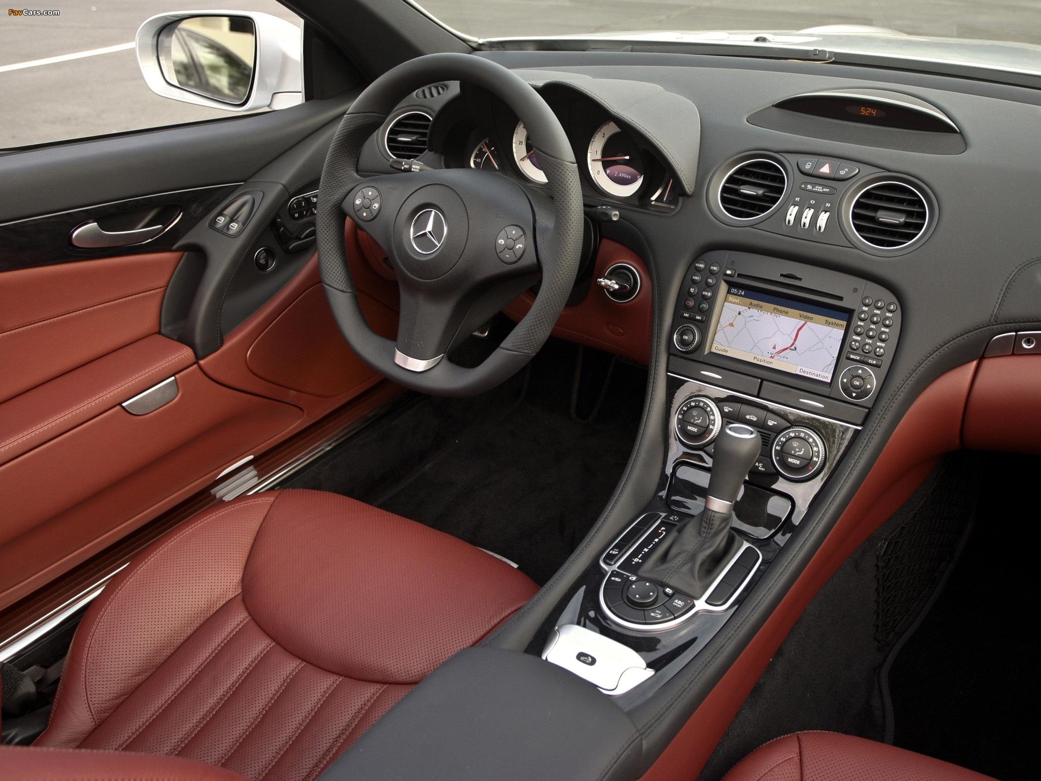 Mercedes-Benz SL 550 (R230) 2008–11 wallpapers (2048 x 1536)