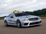Mercedes-Benz SL 63 AMG F1 Safety Car (R230) 2008–09 wallpapers