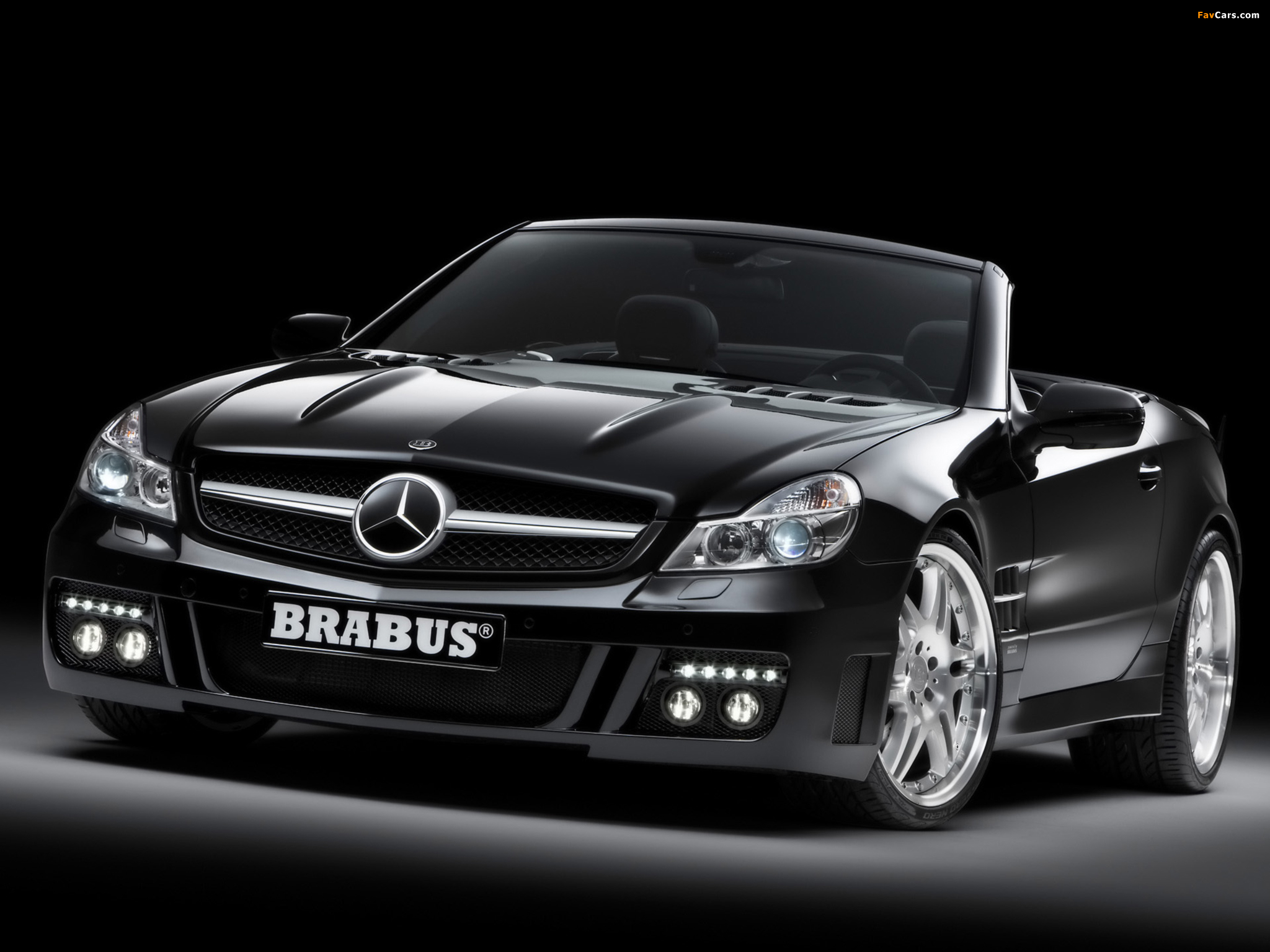 Brabus S V12 S (R230) 2008 wallpapers (2048 x 1536)