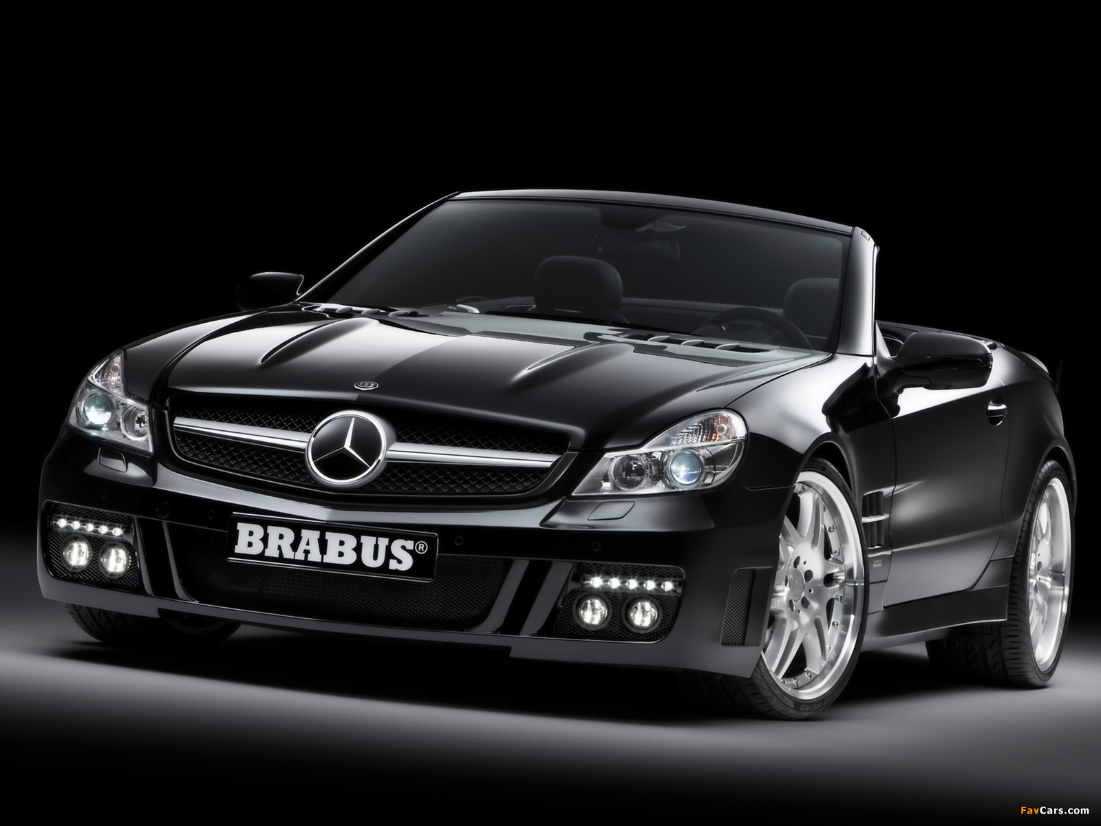 Brabus S V12 S (R230) 2008 wallpapers (1600 x 1200)