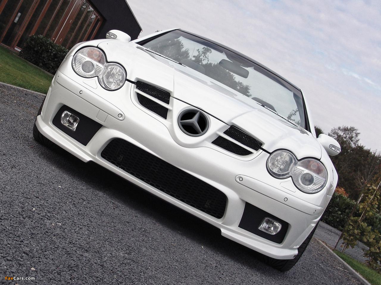 Prior-Design Mercedes-Benz SL 500 (R230) 2009 wallpapers (1280 x 960)