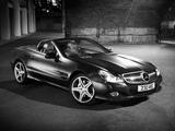 Mercedes-Benz SL 350 Night Edition UK-spec (R230) 2010–11 wallpapers