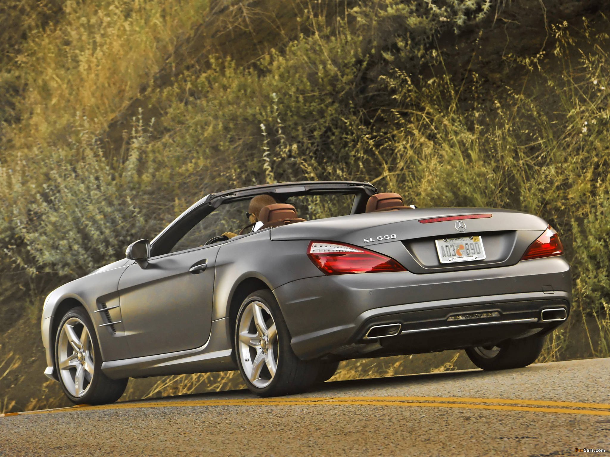 Mercedes-Benz SL 550 AMG Sports Package (R231) 2012 wallpapers (2048 x 1536)