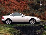 Images of Mercedes-Benz SLK 230 Kompressor UK-spec (R170) 1996–2000
