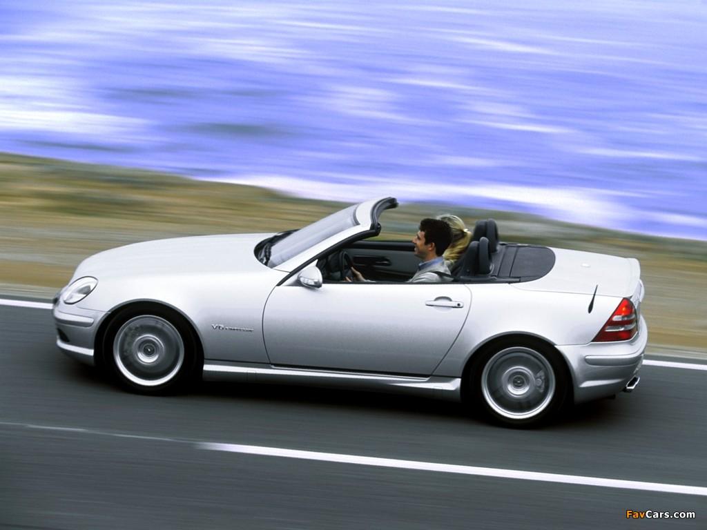 Images of Mercedes-Benz SLK 32 AMG (R170) 2001–04 (1024 x 768)