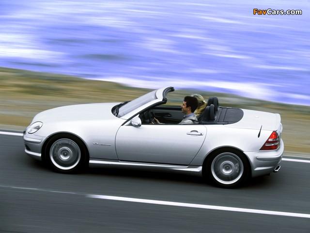 Images of Mercedes-Benz SLK 32 AMG (R170) 2001–04 (640 x 480)