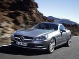 Images of Mercedes-Benz SLK 350 (R172) 2011