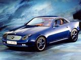 Mercedes-Benz SLK Prototype 1994 wallpapers