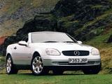 Mercedes-Benz SLK 230 Kompressor UK-spec (R170) 1996–2000 wallpapers