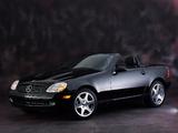 Mercedes-Benz SLK 230 Kompressor US-spec (R170) 1996–2000 wallpapers