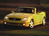 Mercedes-Benz SLK 320 Sports Package US-spec (R170) 2000–04 photos