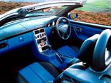 Mercedes-Benz SLK 200 Kompressor UK-spec (R170) 2000–04 photos