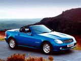Mercedes-Benz SLK 200 Kompressor UK-spec (R170) 2000–04 pictures