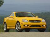 Mercedes-Benz SLK 32 AMG US-spec (R170) 2001–04 wallpapers