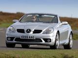 Mercedes-Benz SLK 55 AMG UK-spec (R171) 2004–08 images