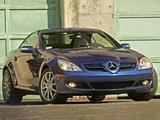 Mercedes-Benz SLK 350 US-spec (R171) 2004–07 photos