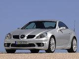 Mercedes-Benz SLK 55 AMG (R171) 2004–08 pictures