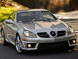 Mercedes-Benz SLK 55 AMG US-spec (R171) 2008–11 images