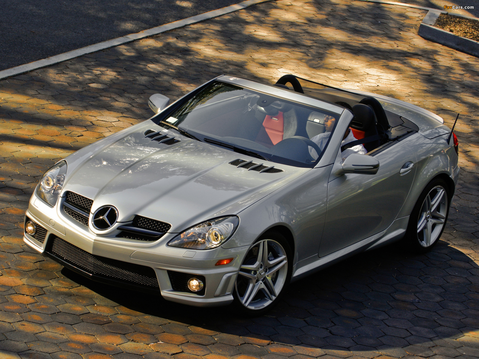 Mercedes-Benz SLK 55 AMG US-spec (R171) 2008–11 photos (1600 x 1200)