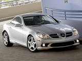 Mercedes-Benz SLK 350 Sports Package US-spec (R171) 2008–11 photos