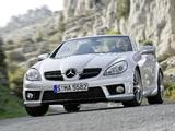 Mercedes-Benz SLK 55 AMG (R171) 2008–11 pictures