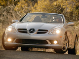 Mercedes-Benz SLK 350 Sports Package US-spec (R171) 2008–11 wallpapers