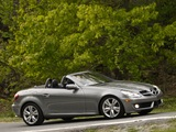 Mercedes-Benz SLK 350 US-spec (R171) 2008–11 wallpapers