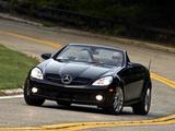Mercedes-Benz SLK 300 US-spec (R171) 2009–11 photos