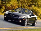 Mercedes-Benz SLK 300 US-spec (R171) 2009–11 pictures