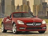 Mercedes-Benz SLK 350 AMG Sports Package US-spec (R172) 2011 photos