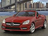 Mercedes-Benz SLK 350 AMG Sports Package US-spec (R172) 2011 pictures
