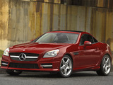 Mercedes-Benz SLK 350 AMG Sports Package US-spec (R172) 2011 wallpapers