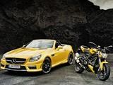 Mercedes-Benz SLK 55 AMG (R172) 2011 wallpapers