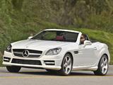 Mercedes-Benz SLK 250 AMG Sports Package US-spec (R172) 2011 wallpapers