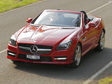 Mercedes-Benz SLK 350 AMG Sports Package AU-spec (R172) 2012 images