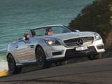 Mercedes-Benz SLK 55 AMG AU-spec (R172) 2012 images
