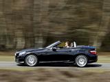 Mercedes-Benz SLK 250 CDI AMG Sports Package UK-spec (R172) 2012 images