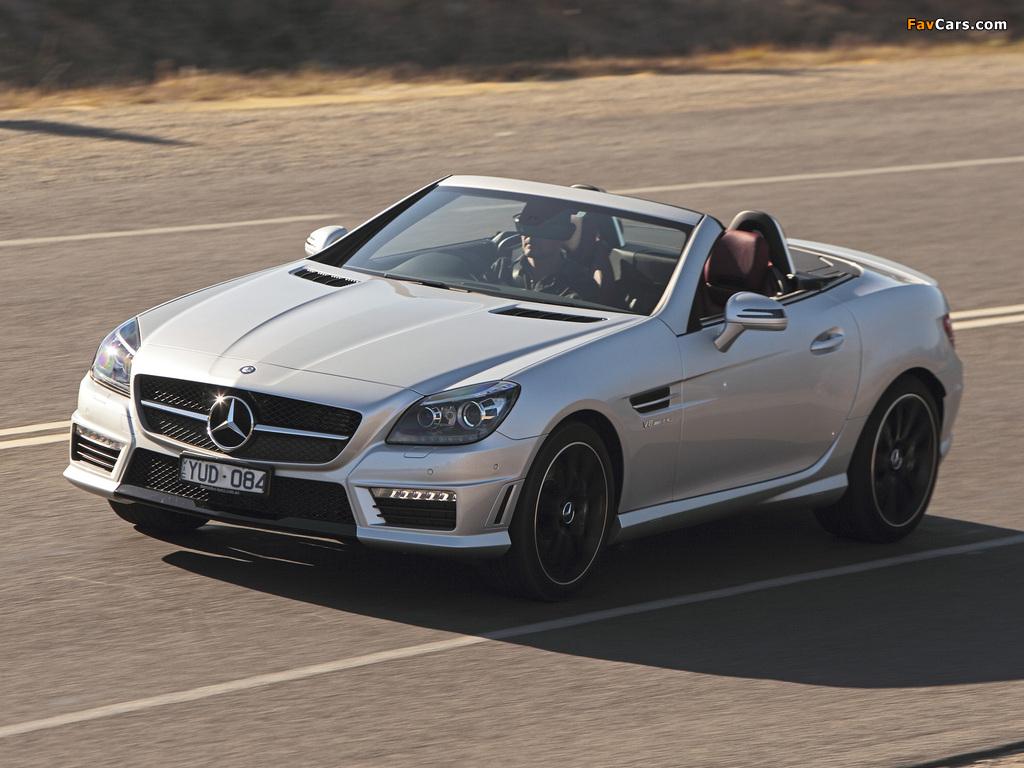 Mercedes benz slk 55 amg au spec r172 2012 images 1024x768 for 2012 mercedes benz slk